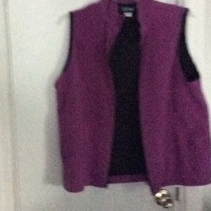Ladies winter vest